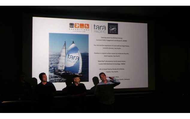 Visit of Tara Pacific - Scientific conference (20/08/17)