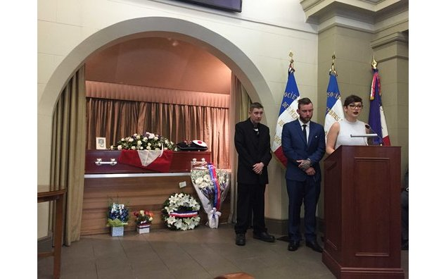 Mr. Georges Brouet's Funeral, veteran of the Second World-War (24/07/2017)