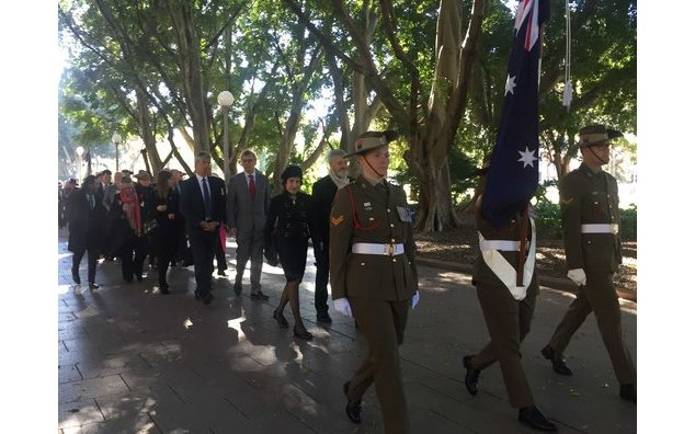 101st Commemoration of the Battle of Fromelles (19/07/2017)